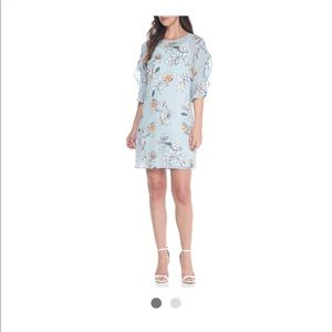 Luxology Striped Floral Dress- NWT size 14